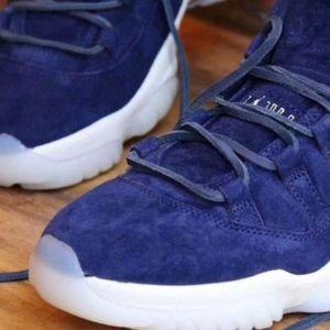 762de7028bdff6 Jordan Shoes - Nike Air Jordan 11 🔥Jeter💙 Re2pect Never Opened!